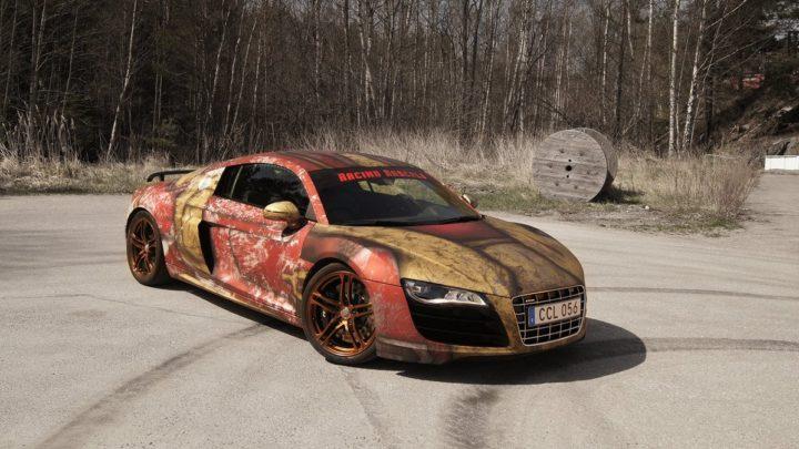Audi-R8-V10-Iron-Man