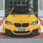 BMW M235i Manhart MH2 WB with Brixton Forged CM7 ReinART Design (3)