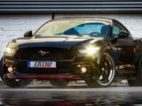 Ford Mustang GT 2017 года с нагнетателем Edelbrock