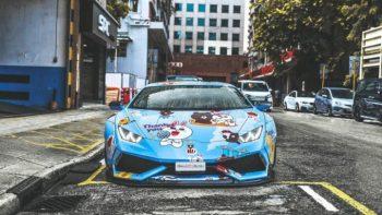 Lamborghini Huracan Brixton Forged PF5 Targa Series Wheels (6)