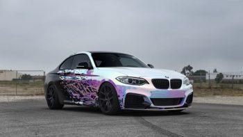 BMW M235i Impressive Wrap (6)