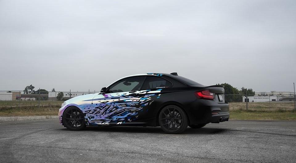 BMW M235i Impressive Wrap (8)
