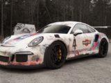 Словно из 70-х! Porsche 911 GT3 RS от студии автовинила WrapZone.