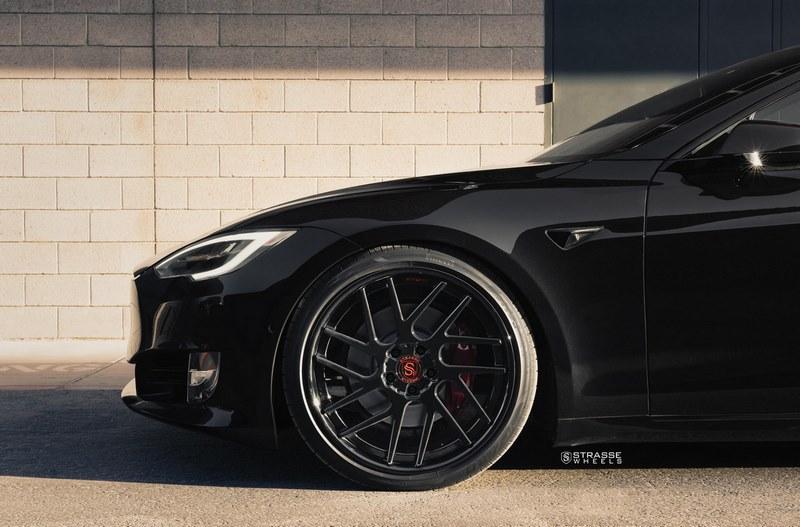 Tesla Model S P100D Strasse Wheels (14)