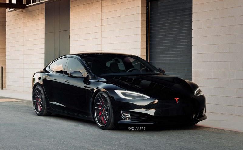 Tesla Model S P100D Strasse Wheels (16)