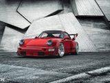 RWB Porsche 964 Turbo и диски CCW 2.