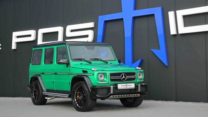 Mercedes-AMG G 63 от тюнинг-ателье POSAIDON