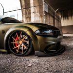 Dodge Charger SRT Hellcat Avant Garde Wheels AGL52 (3)