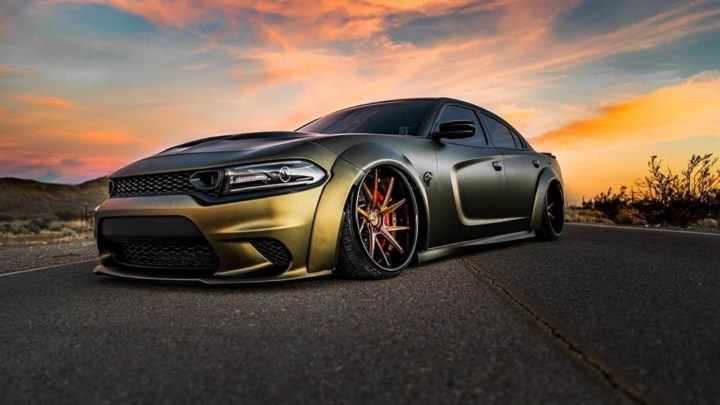 Dodge Charger SRT Hellcat Avant Garde Wheels AGL52