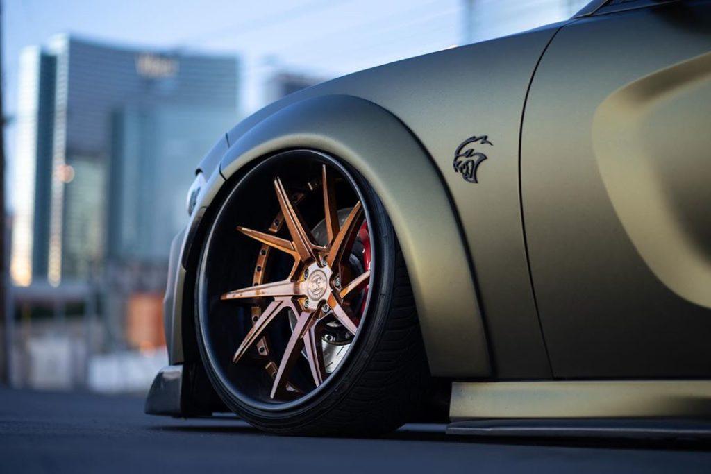 Dodge Charger SRT Hellcat Avant Garde Wheels AGL52 (9)