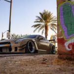 Nissan GT-R Liberty Walk V2 Savini Wheels (10)
