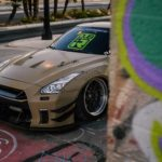 Nissan GT-R Liberty Walk V2 Savini Wheels (11)