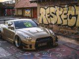 Nissan GT-R Liberty Walk V2 Savini Wheels (12)