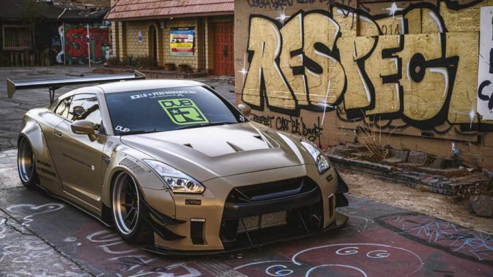 Nissan GT-R Liberty Walk V2 Savini Wheels (12)
