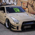 Nissan GT-R Liberty Walk V2 Savini Wheels (14)