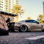 Nissan GT-R Liberty Walk V2 Savini Wheels (17)