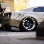 Nissan GT-R Liberty Walk V2 Savini Wheels (18)