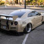 Nissan GT-R Liberty Walk V2 Savini Wheels (19)