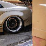 Nissan GT-R Liberty Walk V2 Savini Wheels (3)