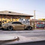 Nissan GT-R Liberty Walk V2 Savini Wheels (5)